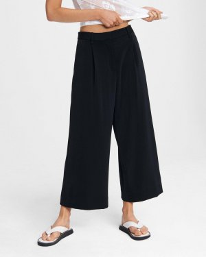 Ivy crepe culotte | Oversized fit cropped pant | Rag & Bone