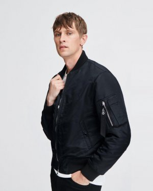 Manston nylon bomber jacket | *The promo code will be sent to th